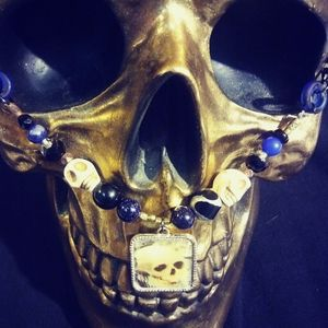 Skull Skeleton necklace jewelry